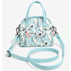 Loungefly Lilo and Stitch Small Purse Tote Bag New